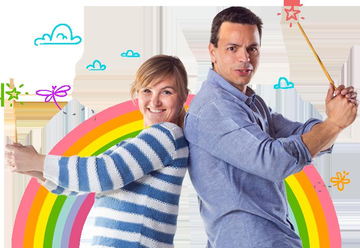 Manu y Alex