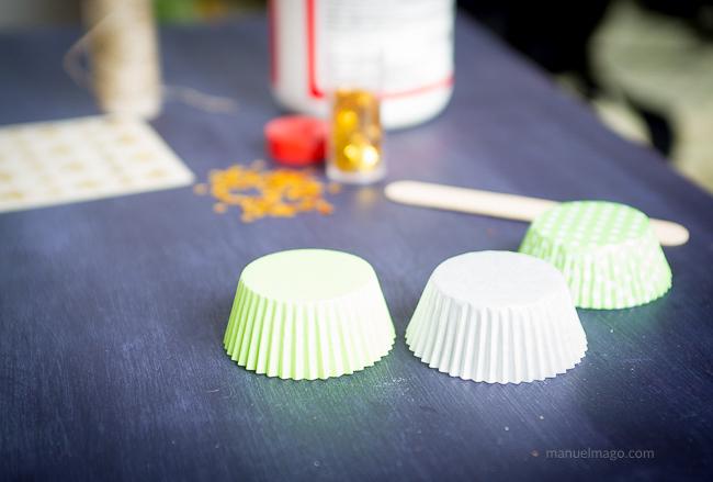 capsulas para hacer guirnalda